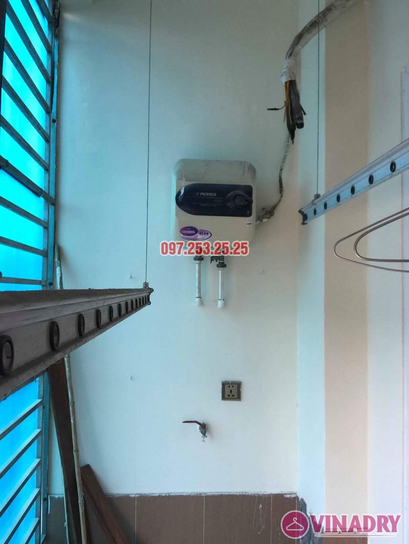 Sửa giàn phơi thông minh tại Hai Bà Trưng nhà chị Hải, chung cư 310 Minh Khai - 03