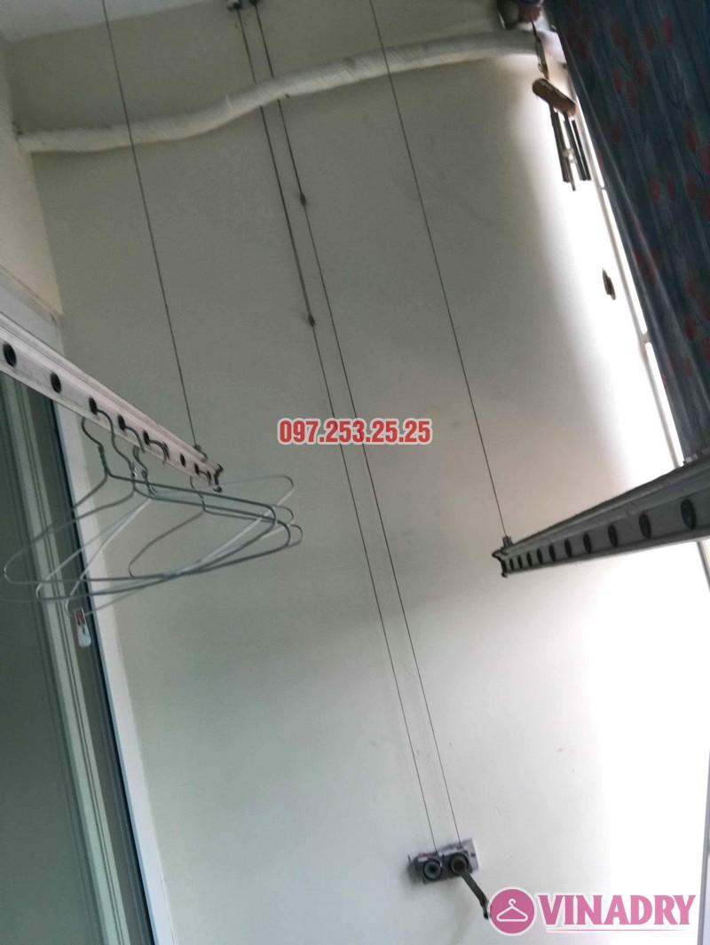 Sửa giàn phơi thông minh tại Hai Bà Trưng nhà chị Hải, chung cư 310 Minh Khai - 04