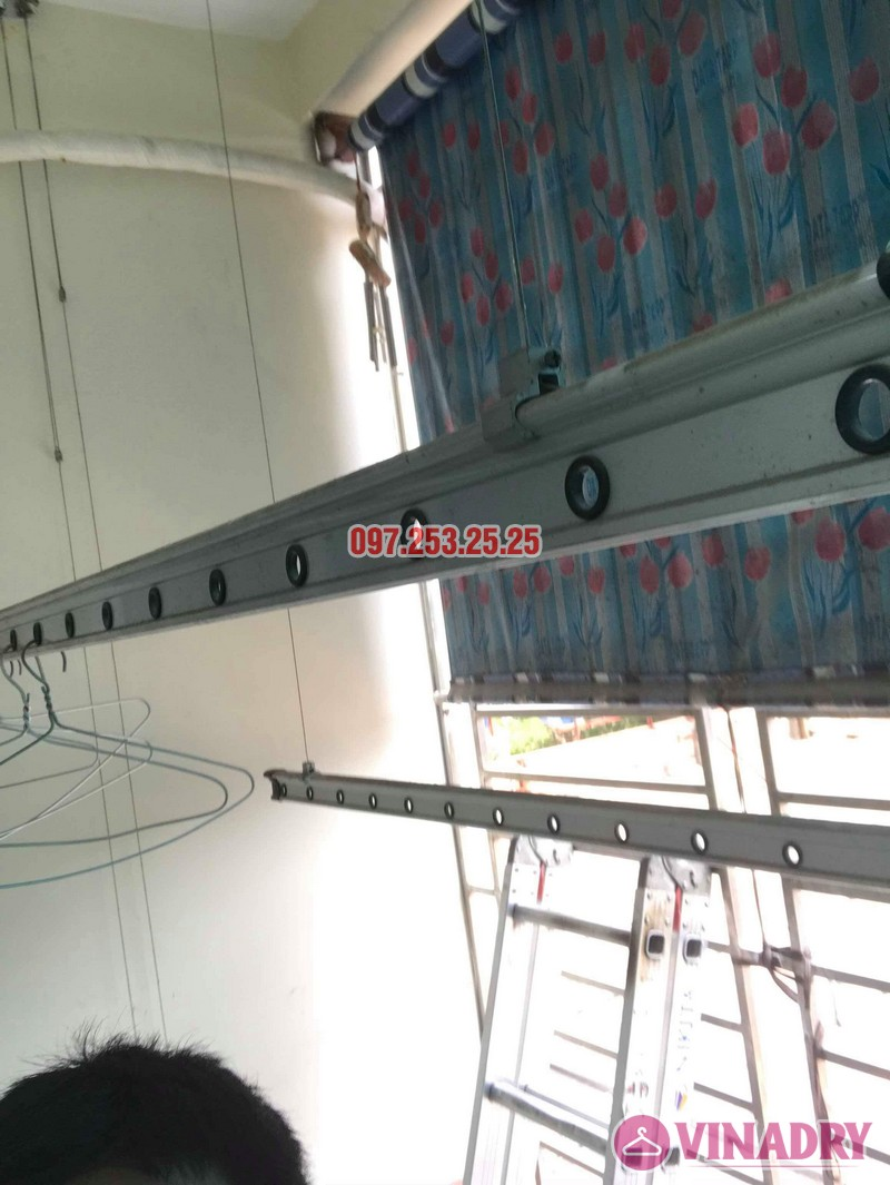 Sửa giàn phơi thông minh tại Hai Bà Trưng nhà chị Hải, chung cư 310 Minh Khai - 05