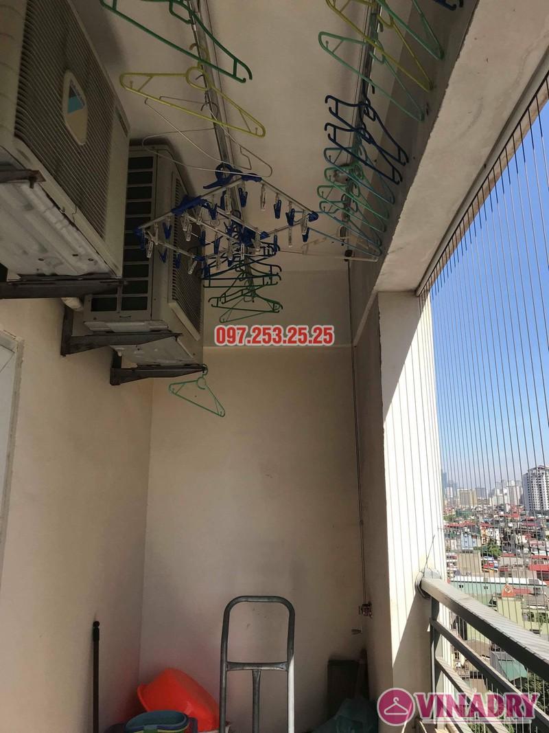 Sửa giàn phơi giá rẻ tại Hoàng Mai nhà chị Thim, chung cư Nam Đô Complex - 01