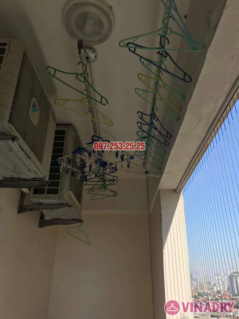 Sửa giàn phơi giá rẻ tại Hoàng Mai nhà chị Thim, chung cư Nam Đô Complex - 02