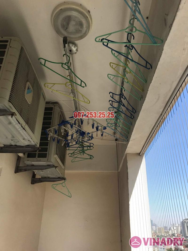 Sửa giàn phơi giá rẻ tại Hoàng Mai nhà chị Thim, chung cư Nam Đô Complex - 03
