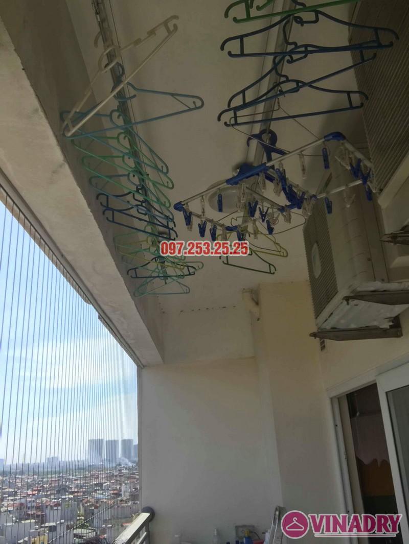 Sửa giàn phơi giá rẻ tại Hoàng Mai nhà chị Thim, chung cư Nam Đô Complex - 04