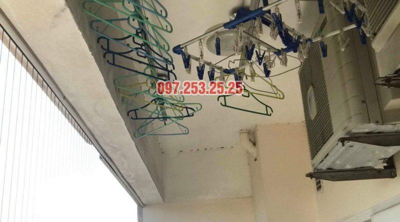 Sửa giàn phơi giá rẻ tại Hoàng Mai nhà chị Thim, chung cư Nam Đô Complex - 05
