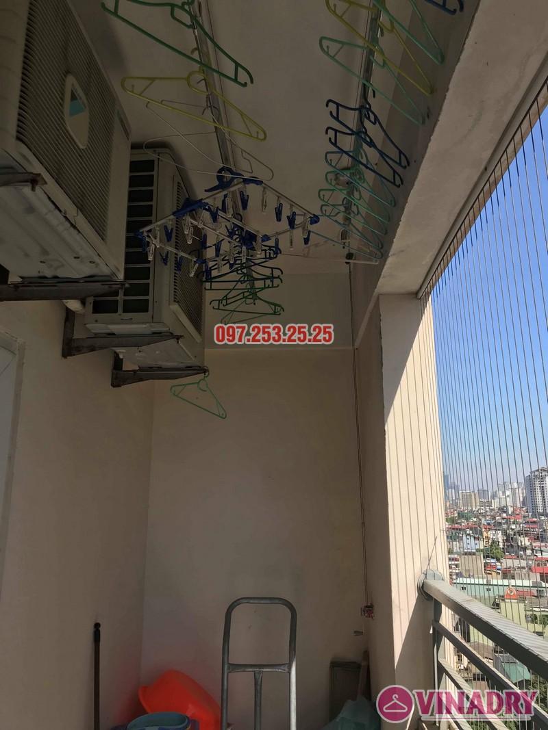 Sửa giàn phơi giá rẻ tại Hoàng Mai nhà chị Thim, chung cư Nam Đô Complex - 06