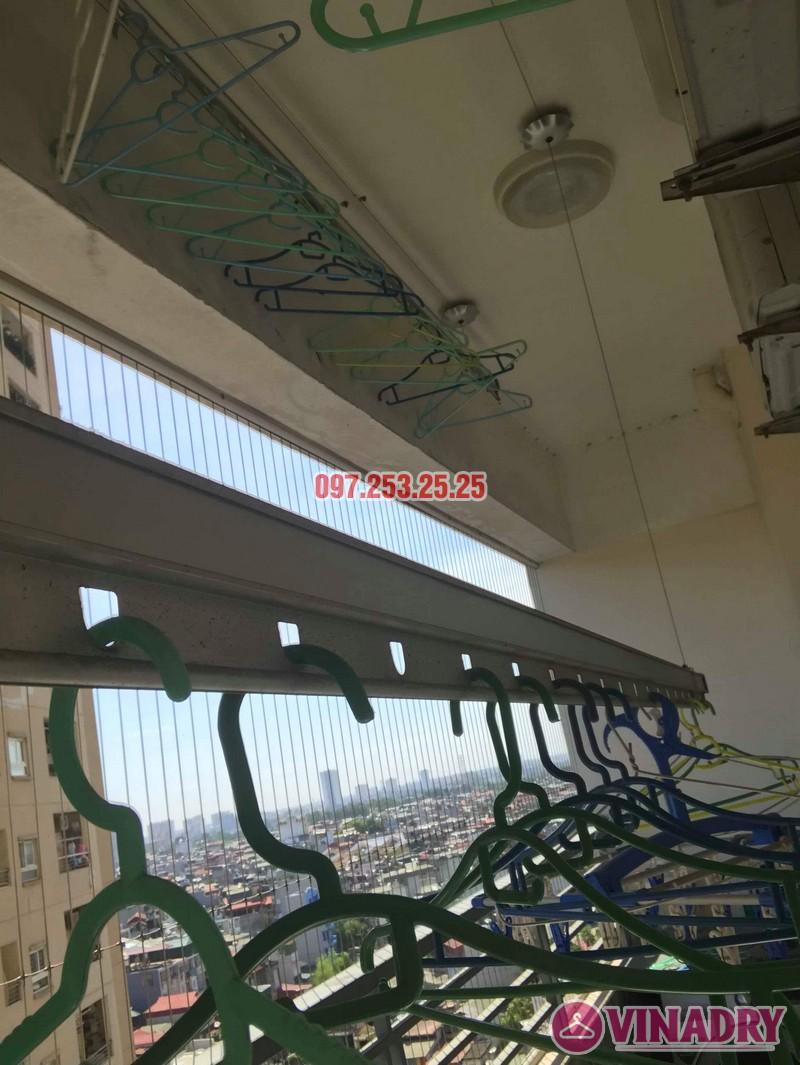 Sửa giàn phơi giá rẻ tại Hoàng Mai nhà chị Thim, chung cư Nam Đô Complex - 07