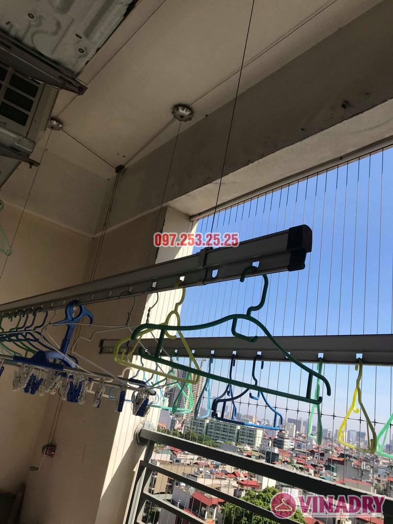 Sửa giàn phơi giá rẻ tại Hoàng Mai nhà chị Thim, chung cư Nam Đô Complex - 08