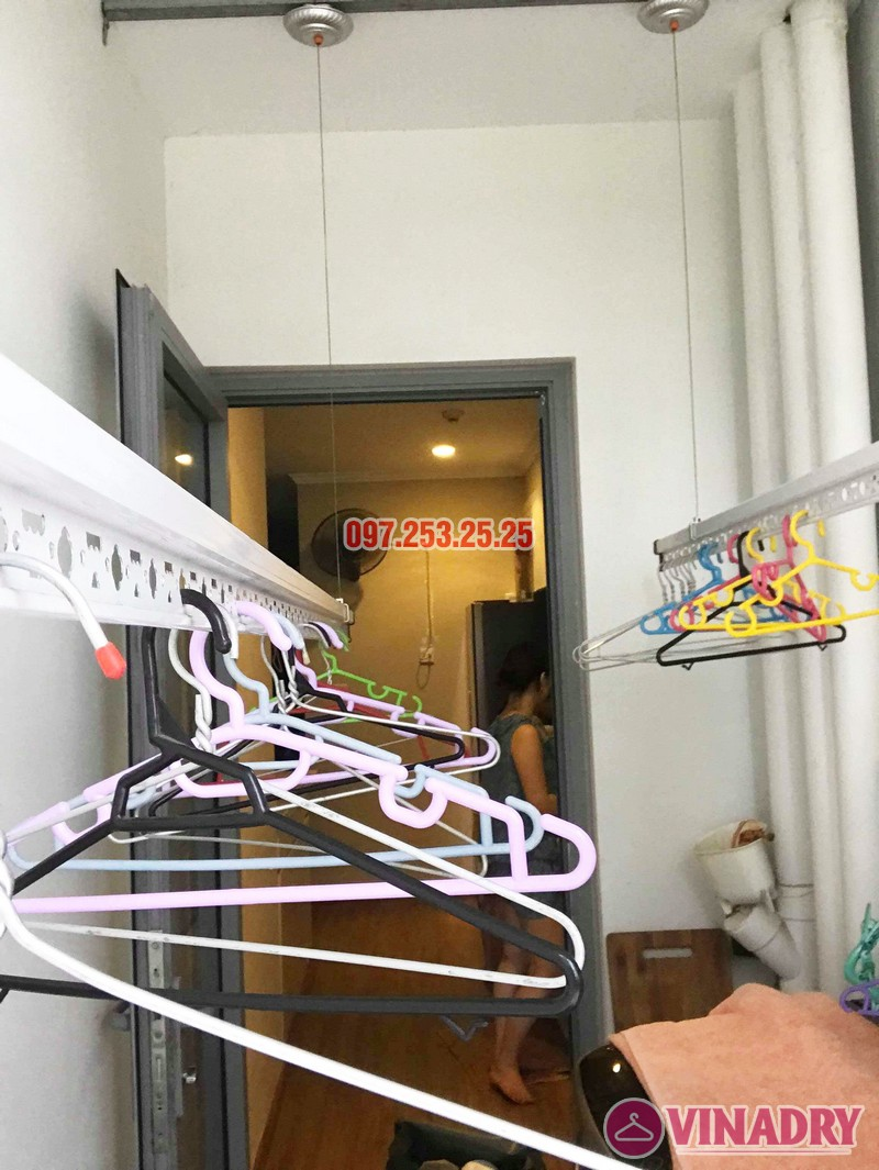 Sửa giàn phơi thông minh tại Park Hill Times City nhà chị Dịu - 03