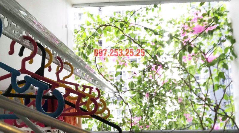 Sửa giàn phơi thông minh tại Park Hill Times City nhà chị Dịu - 05