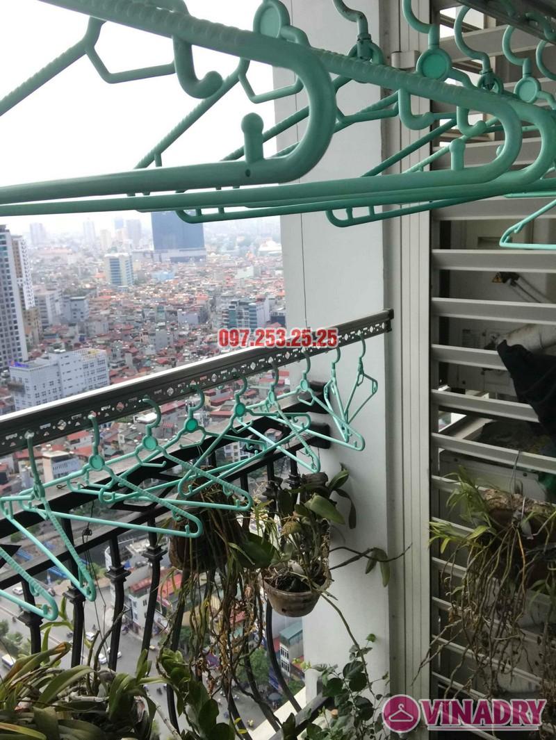 Sửa giàn phơi quần áo tại Hà Nội nhà chị Khanh tòa R6, Royal City - 02