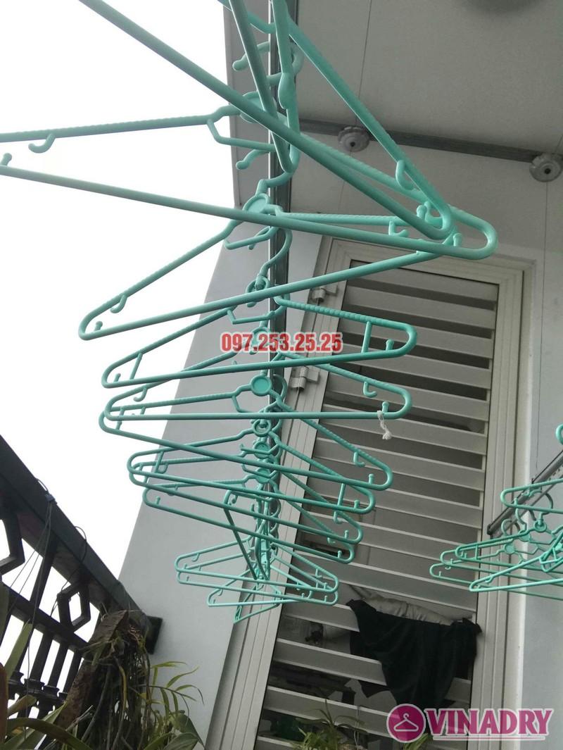 Sửa giàn phơi quần áo tại Hà Nội nhà chị Khanh tòa R6, Royal City - 04