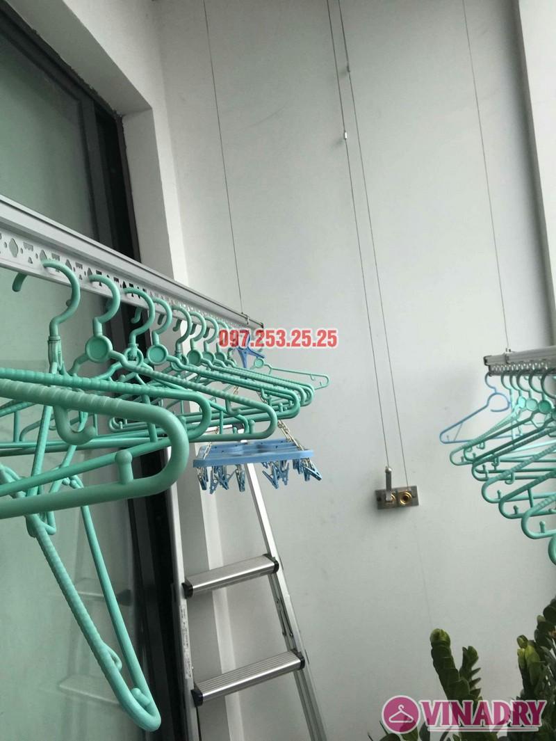 Sửa giàn phơi quần áo tại Hà Nội nhà chị Khanh tòa R6, Royal City - 05