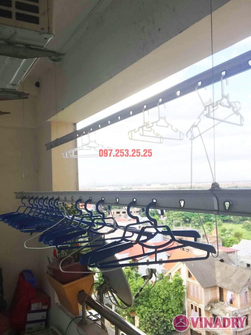 Sửa giàn phơi quần áo tại Long Biên nhà chị Trang, căn 806 tòa No 17-1 KĐT Sài Đồng - 02