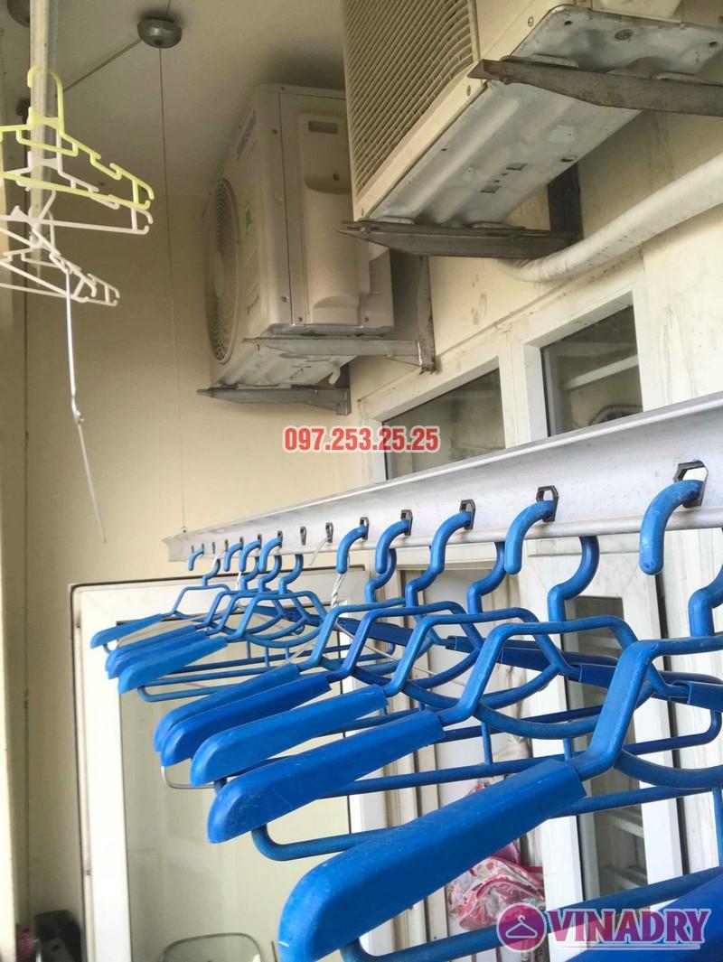 Sửa giàn phơi quần áo tại Long Biên nhà chị Trang, căn 806 tòa No 17-1 KĐT Sài Đồng - 04
