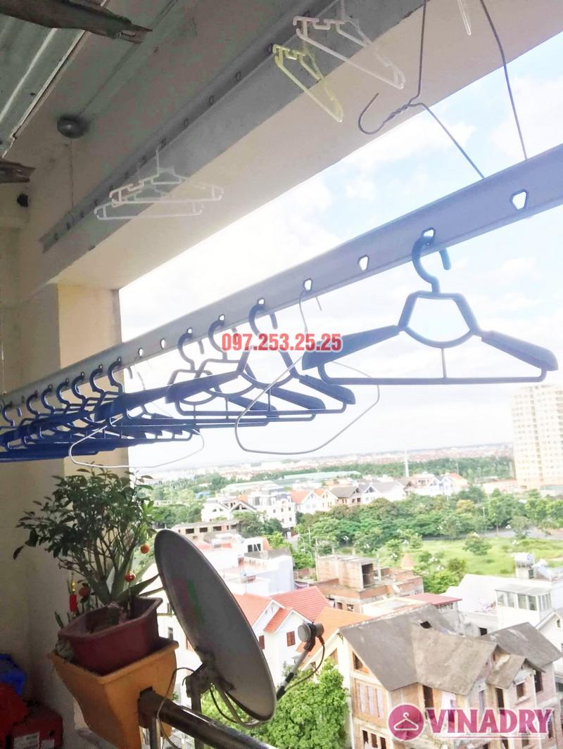 Sửa giàn phơi quần áo tại Long Biên nhà chị Trang, căn 806 tòa No 17-1 KĐT Sài Đồng - 05
