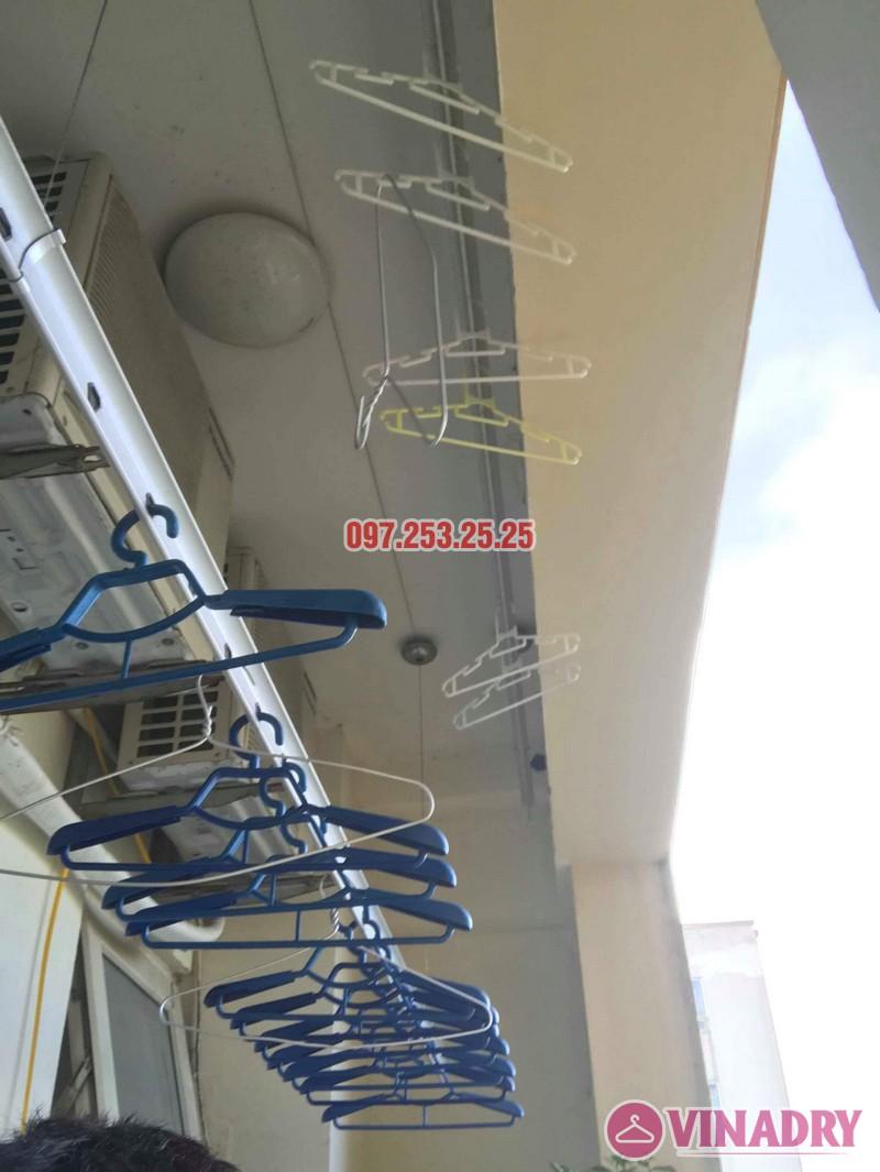 Sửa giàn phơi quần áo tại Long Biên nhà chị Trang, căn 806 tòa No 17-1 KĐT Sài Đồng - 06