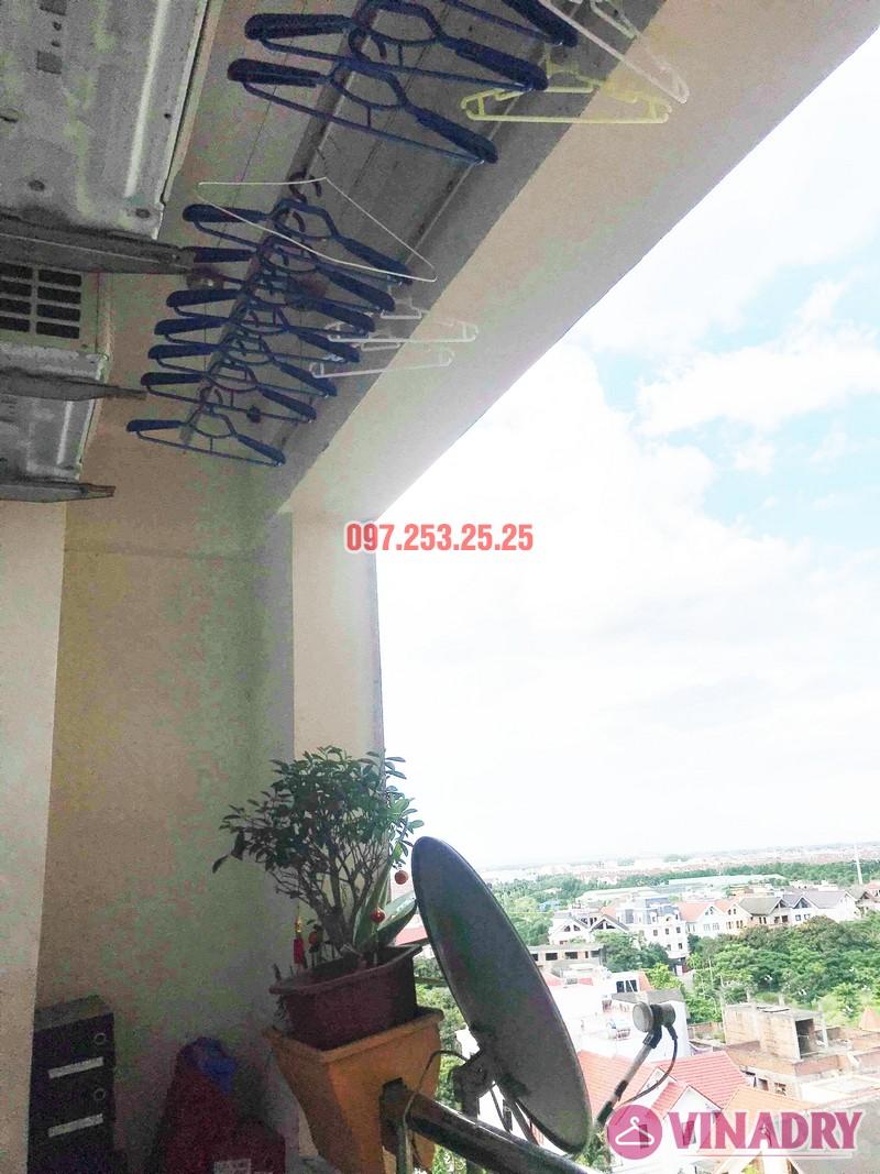 Sửa giàn phơi quần áo tại Long Biên nhà chị Trang, căn 806 tòa No 17-1 KĐT Sài Đồng - 07