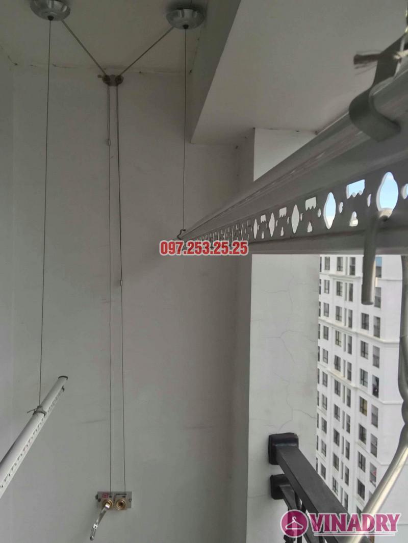 Sửa giàn phơi quần áo tại Hà Nội nhà chị Thắm, căn 2703 tòa T4 Times City - 01
