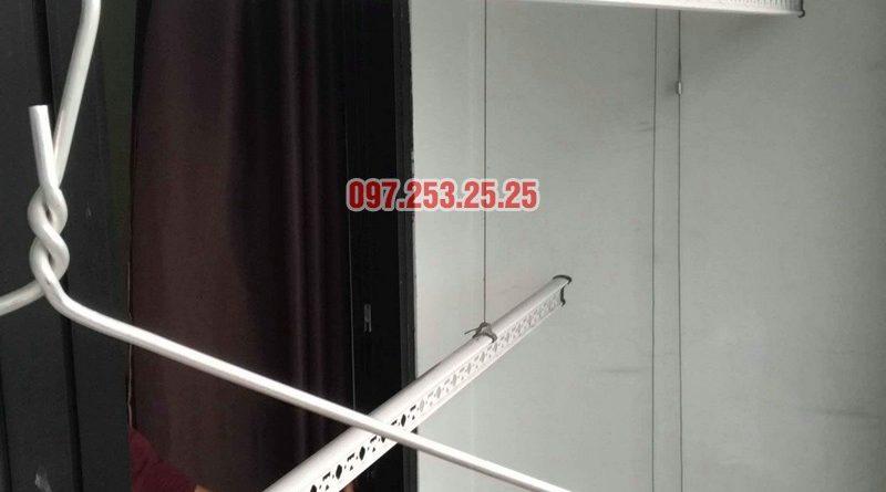 Sửa giàn phơi quần áo tại Hà Nội nhà chị Thắm, căn 2703 tòa T4 Times City - 02