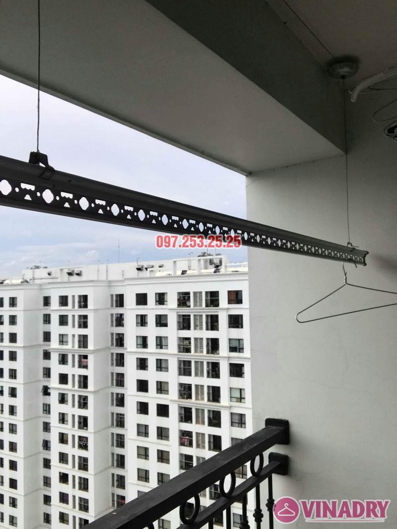Sửa giàn phơi quần áo tại Hà Nội nhà chị Thắm, căn 2703 tòa T4 Times City - 06
