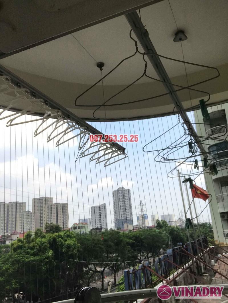 Sửa giàn phơi giá rẻ nhà chị Minh, tòa 15T2 chung cư 18 Tam Trinh - 03