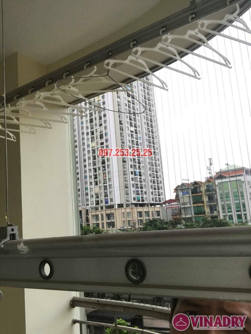 Sửa giàn phơi giá rẻ nhà chị Minh, tòa 15T2 chung cư 18 Tam Trinh - 04