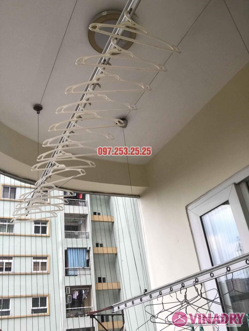 Sửa giàn phơi giá rẻ nhà chị Minh, tòa 15T2 chung cư 18 Tam Trinh - 06
