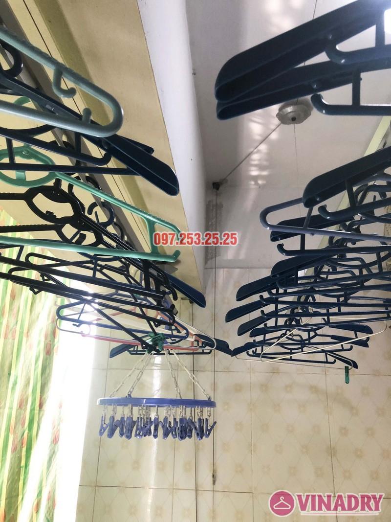 Sửa giàn phơi tại Thanh Trì, Hà Nội nhà chị Tám, căn 2828 chung cư CT8B Đại Thanh - 01