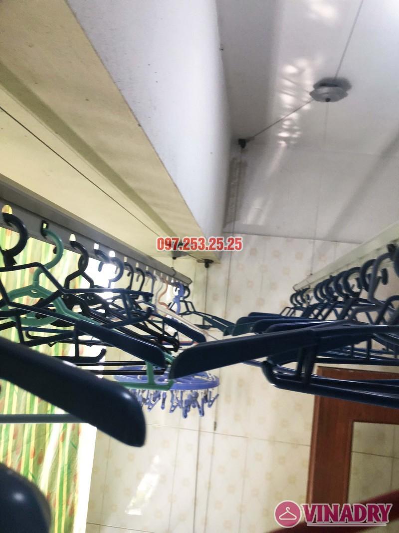 Sửa giàn phơi tại Thanh Trì, Hà Nội nhà chị Tám, căn 2828 chung cư CT8B Đại Thanh - 03