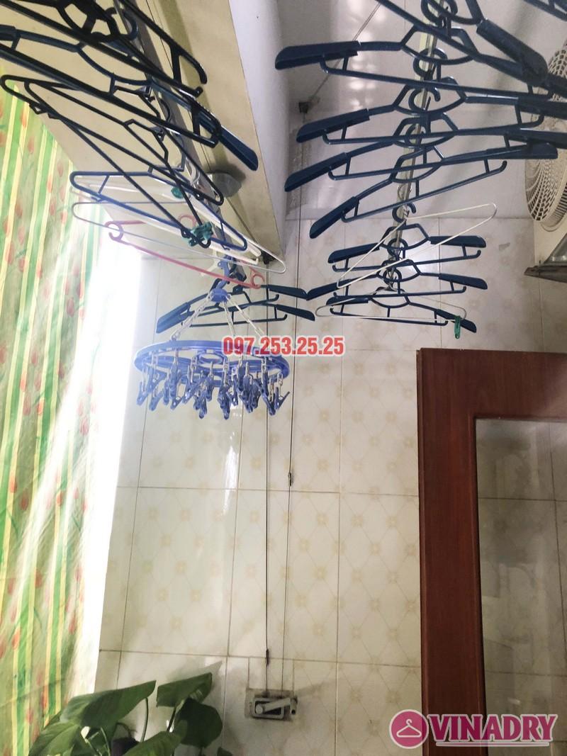 Sửa giàn phơi tại Thanh Trì, Hà Nội nhà chị Tám, căn 2828 chung cư CT8B Đại Thanh - 04