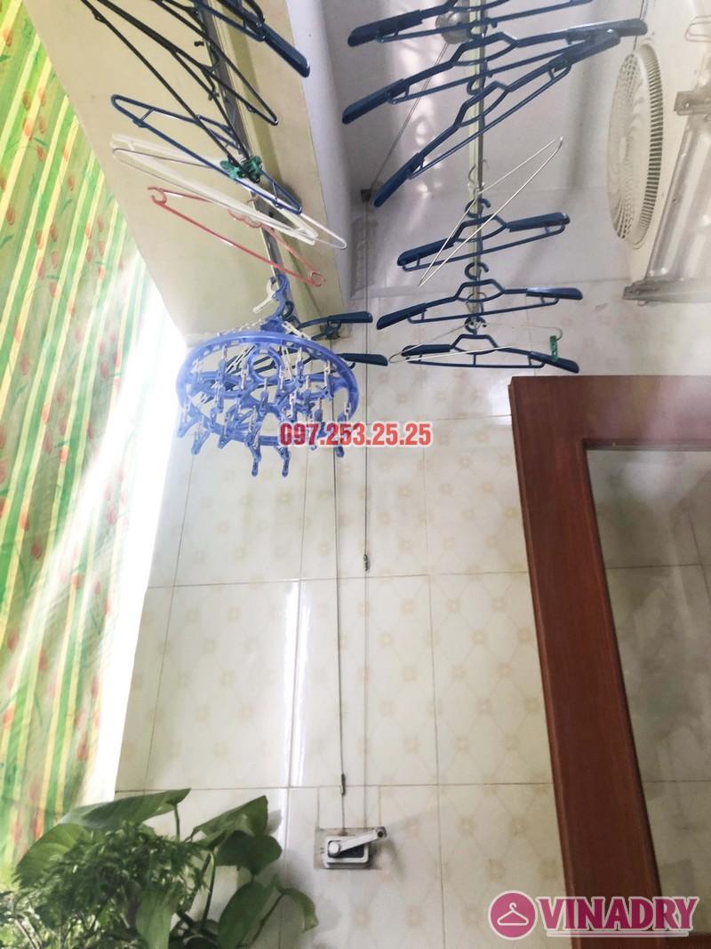 Sửa giàn phơi tại Thanh Trì, Hà Nội nhà chị Tám, căn 2828 chung cư CT8B Đại Thanh - 05