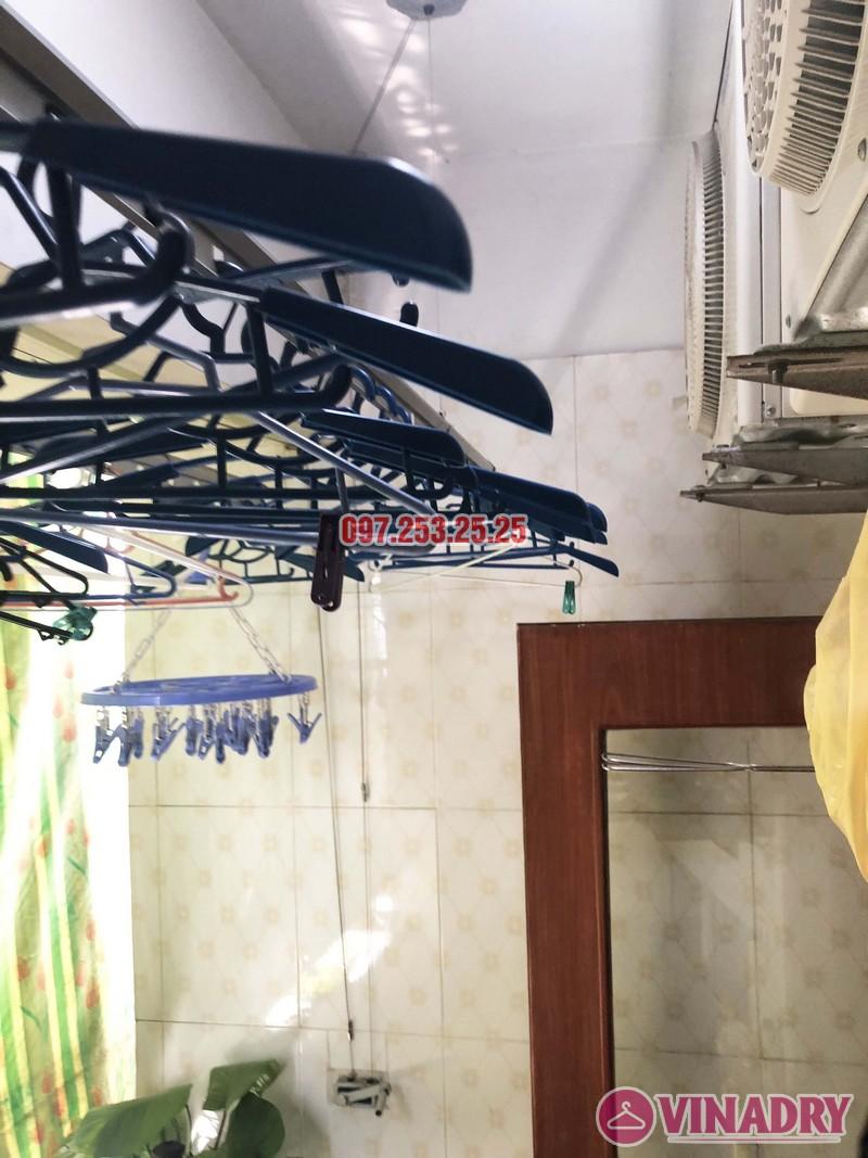 Sửa giàn phơi tại Thanh Trì, Hà Nội nhà chị Tám, căn 2828 chung cư CT8B Đại Thanh - 06