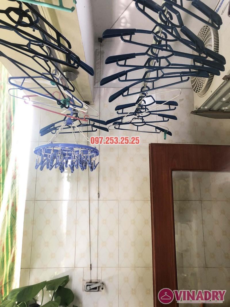 Sửa giàn phơi tại Thanh Trì, Hà Nội nhà chị Tám, căn 2828 chung cư CT8B Đại Thanh - 07
