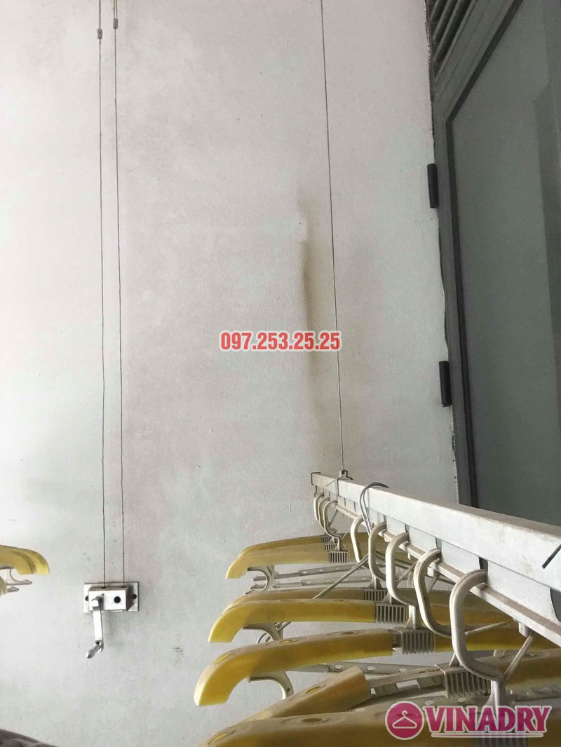 Sửa giàn phơi thông minh Hà Đông nhà chỉ Hà, chung cư làng Việt Kiều Châu Âu Euroland - 06