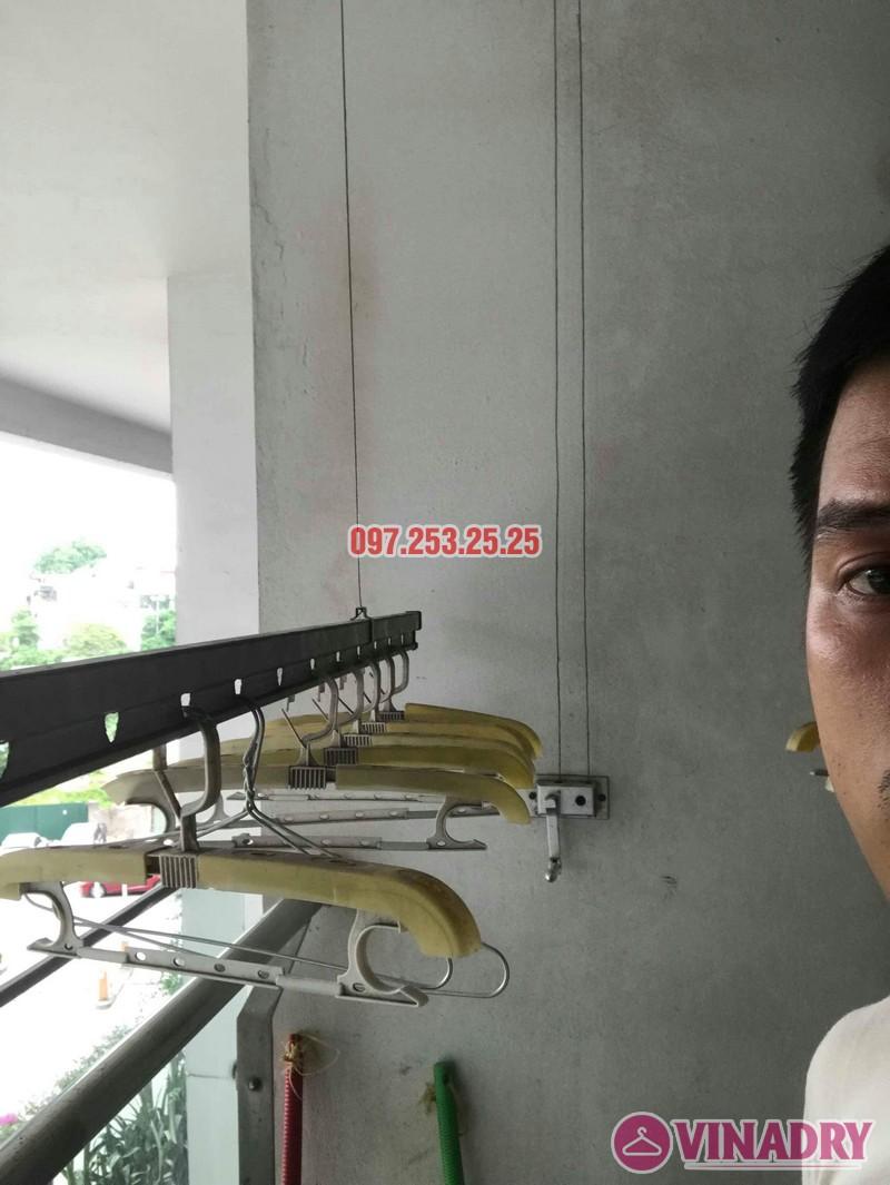 Sửa giàn phơi thông minh Hà Đông nhà chỉ Hà, chung cư làng Việt Kiều Châu Âu Euroland - 07