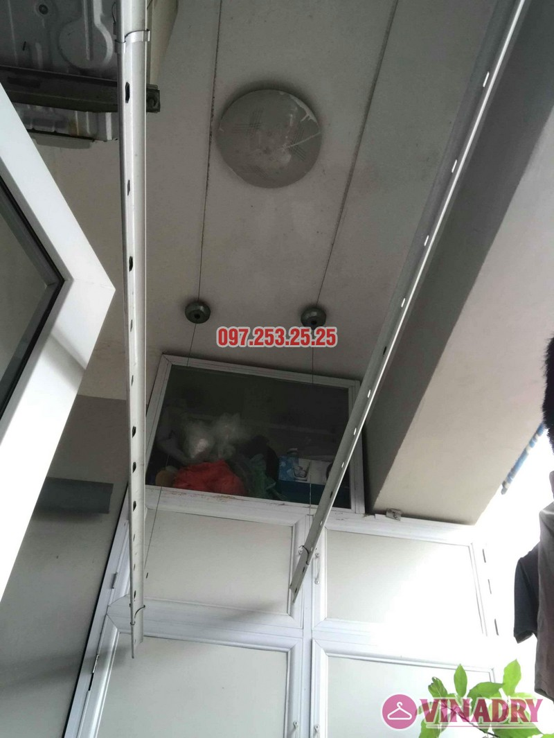 Sửa giàn phơi quần áo nhà chị Nhung, CT4 KĐT mới Xala Hà Đông - 02