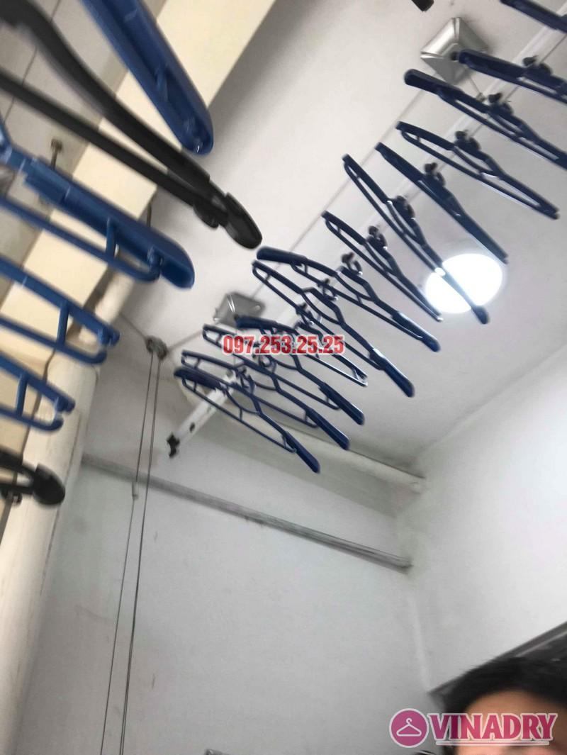 Sửa giàn phơi thông minh Hà Đông nhà chị Mai, chung cư Muberry Lane - 03