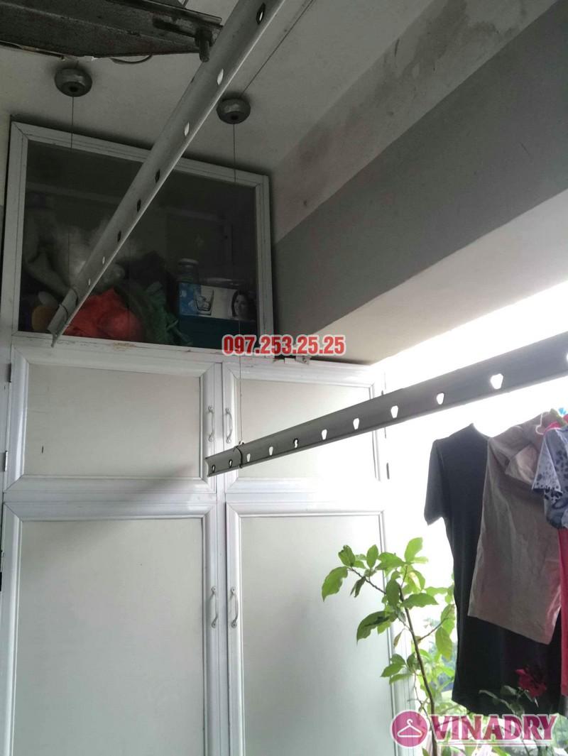 Sửa giàn phơi quần áo nhà chị Nhung, CT4 KĐT mới Xala Hà Đông - 04