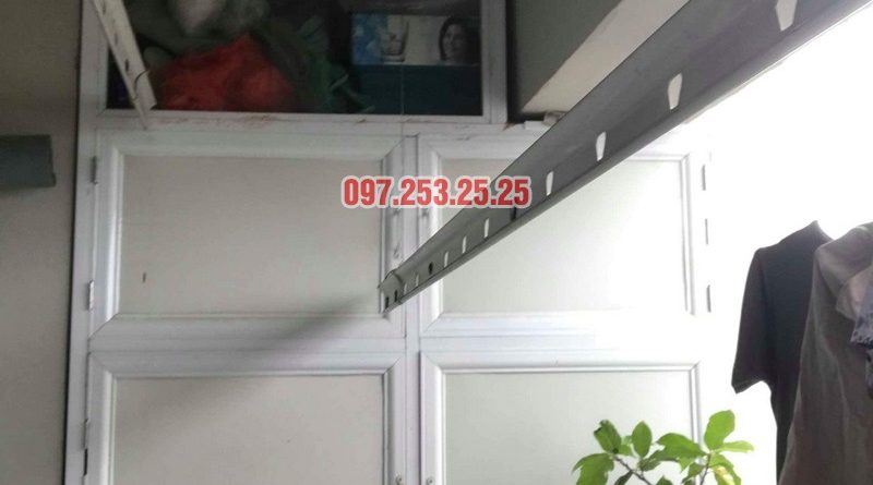 Sửa giàn phơi quần áo nhà chị Nhung, CT4 KĐT mới Xala Hà Đông - 07