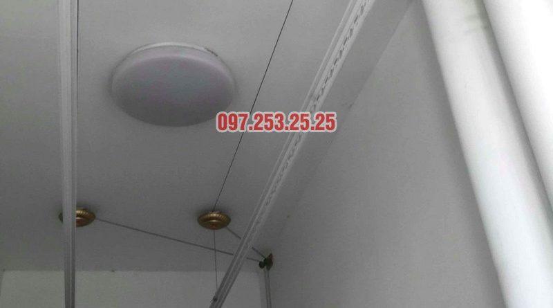 Sửa giàn phơi thông minh tại Park Hill Times City nhà chị Ngân, tòa Park 9 - 01