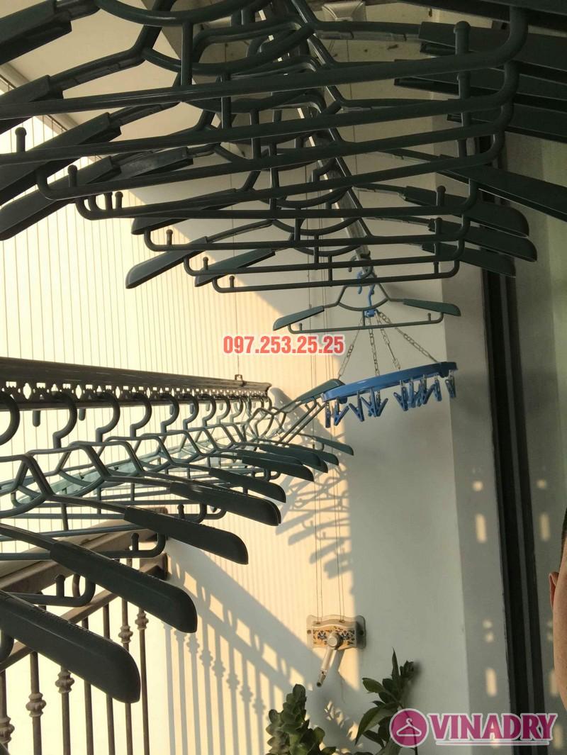 Thay dây cáp giàn phơi thông minh tại Times City nhà anh Bảo - 03