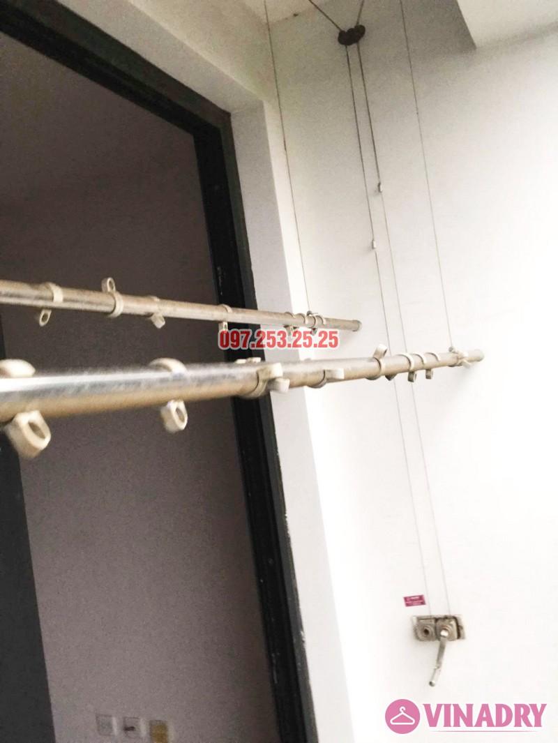 Sửa chữa giàn phơi giá rẻ tại Hà Nội nhà chị Vy, chung cư Times City - 03