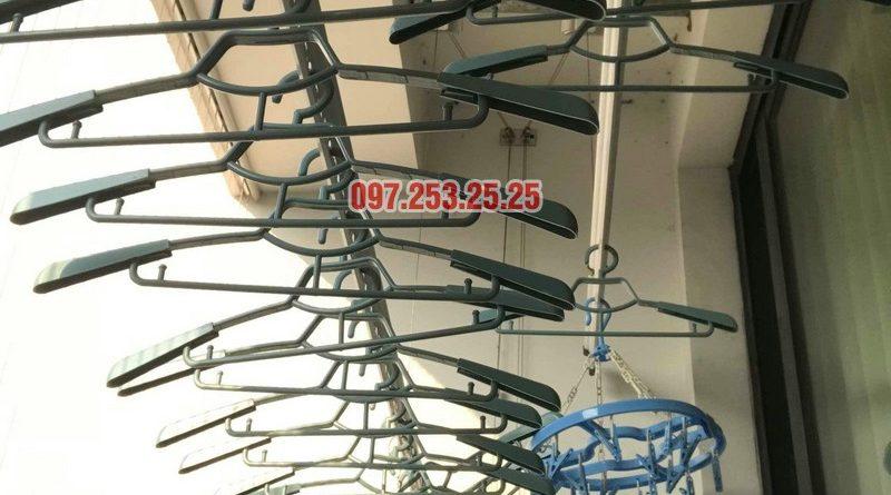 Thay dây cáp giàn phơi thông minh tại Times City nhà anh Bảo - 06