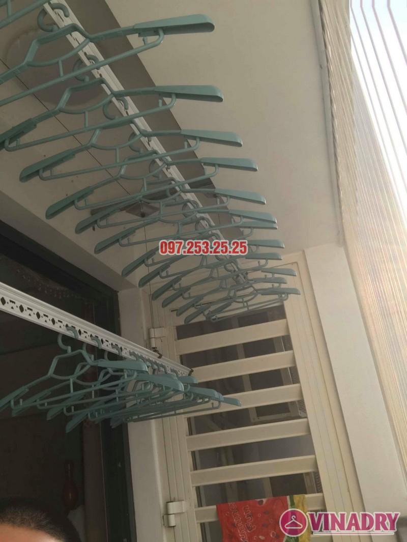Thay dây cáp giàn phơi thông minh tại Times City nhà anh Bảo - 07