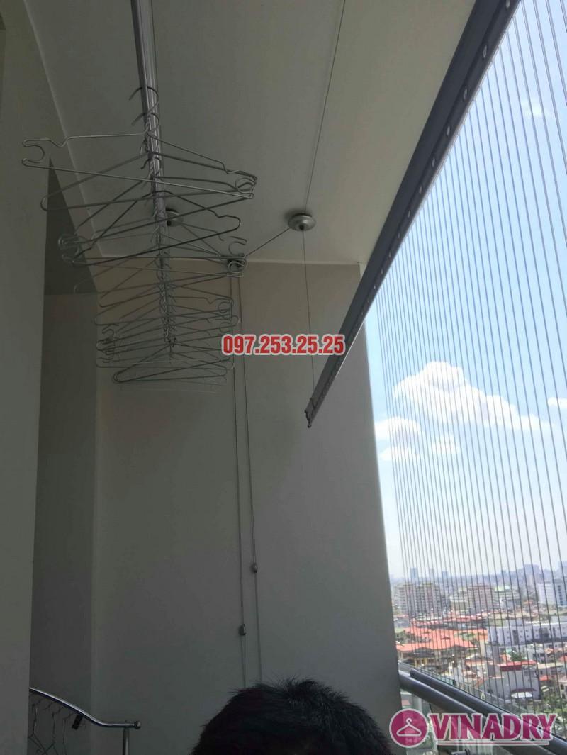 Sửa giàn phơi thông minh tại Cầu giấy nhà chị Lam, chung cư Tràng An, Complex - 01