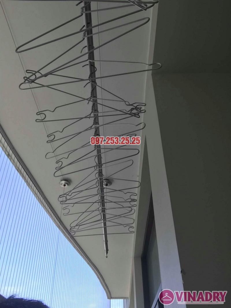 Sửa giàn phơi thông minh tại Cầu giấy nhà chị Lam, chung cư Tràng An, Complex - 03