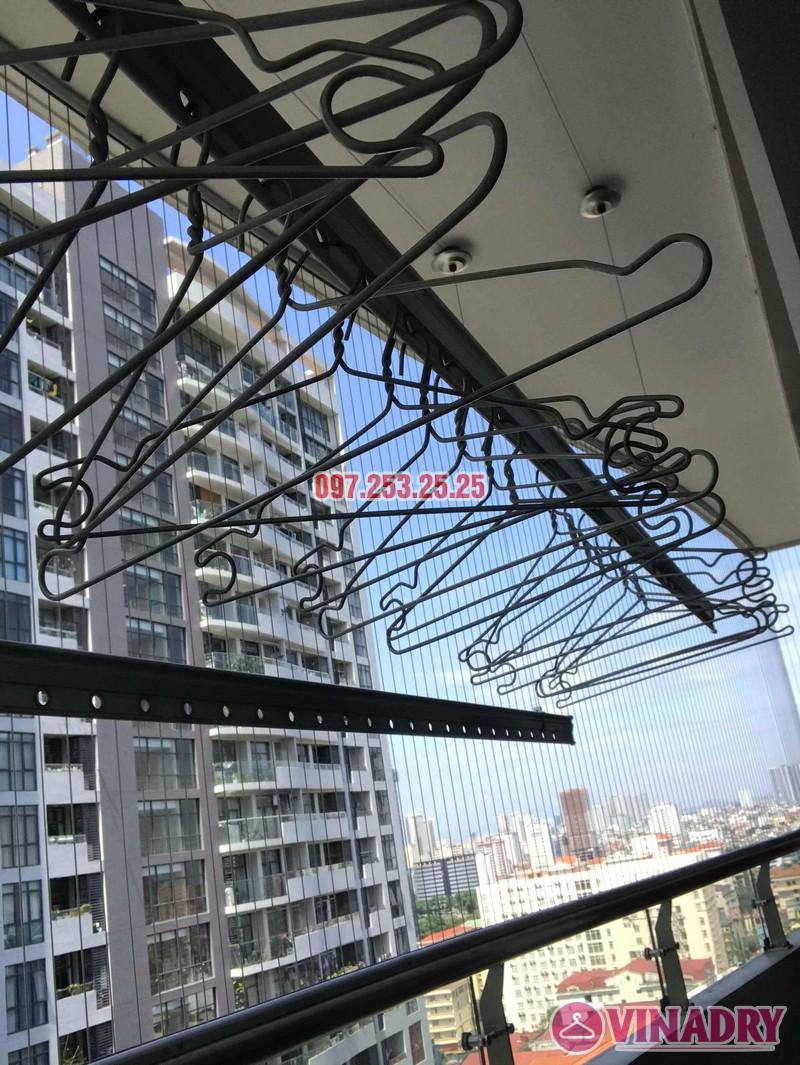 Sửa giàn phơi thông minh tại Cầu giấy nhà chị Lam, chung cư Tràng An, Complex - 04