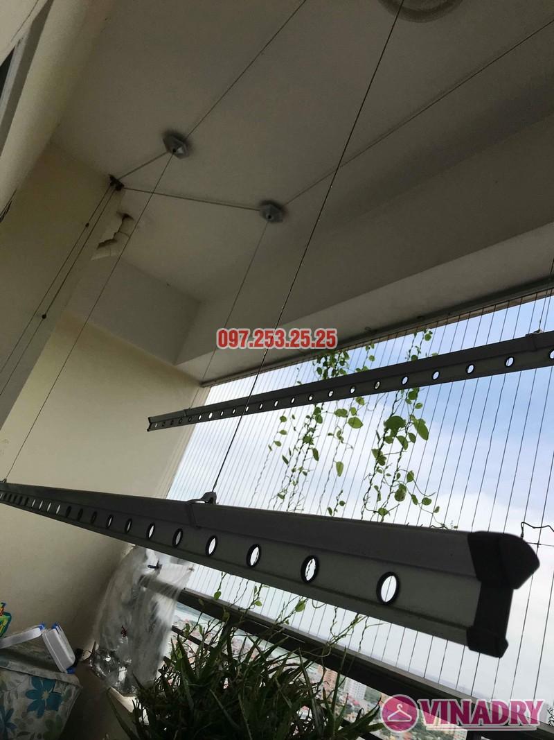 Sửa giàn phơi tại Hoàng Mai nhà anh Phú, chung cư Nam Đô Complex - 01