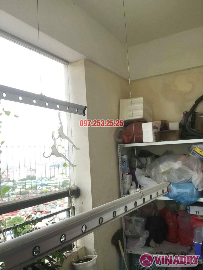 Sửa giàn phơi tại Hoàng Mai nhà anh Phú, chung cư Nam Đô Complex - 02