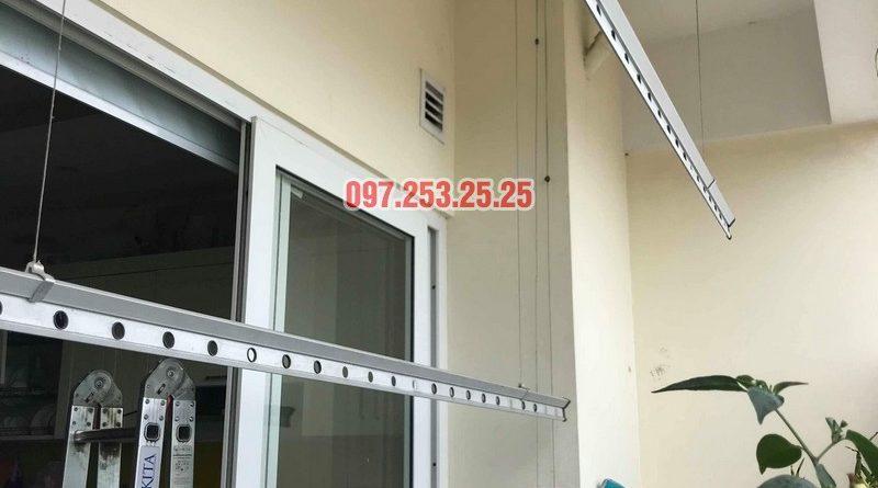 Sửa giàn phơi tại Hoàng Mai nhà anh Phú, chung cư Nam Đô Complex - 05